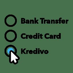 cara kredit kredivo